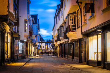 Fotobehang Zuid-Amerika land View of York old city in the twilight, England
