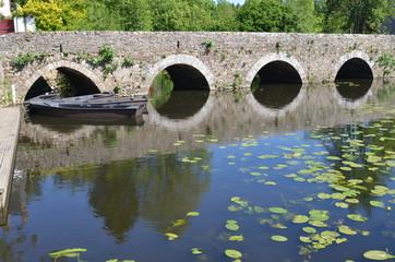 Vieux pont, La Rocheservière, Vendée, France