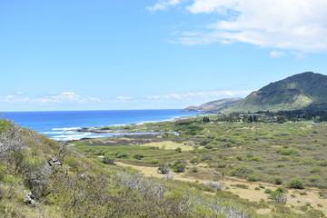 Makapuu Trail in Hawaii ハワイのマカプウトレイル