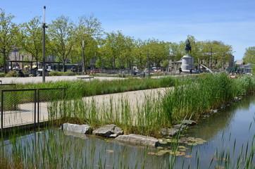 Place Napoléon, La Roche sur Yon, Vendée, France