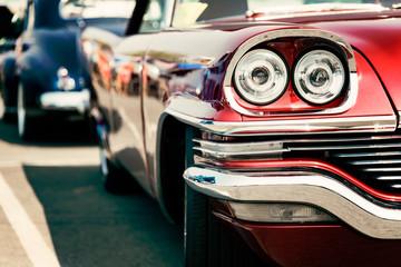 Fotomurales - red classic car
