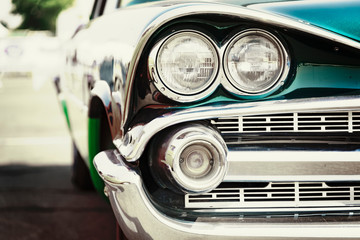 Fotomurales - old american car