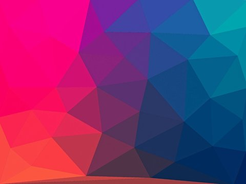 abstract gradient low polygon geometric mosiac background