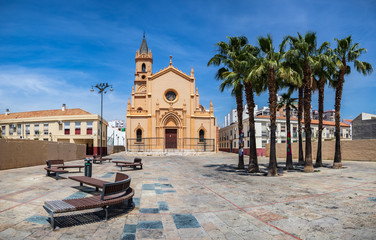 Malaga town on the Costa del Sol