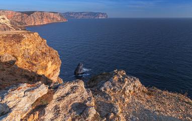 Landscape with Fiolent rocks, Crimea