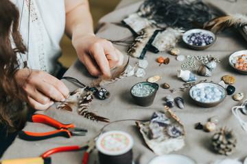 Handmade gemstone jewelry