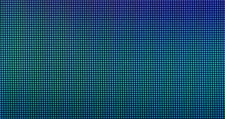 Extreme closeup of LED IPS panel pixels