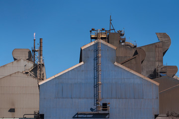 Steel Mill, Zug Island, Detroit, Michigan