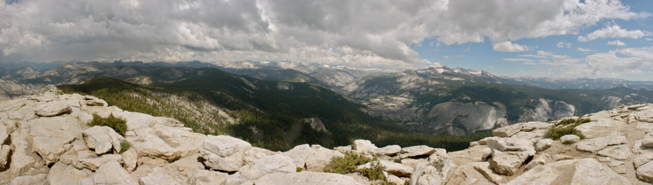 Clouds Rest Hike in Yosemite National Park in California