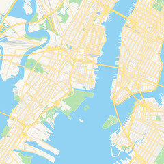 Empty vector map of Jersey City, New Jersey, USA