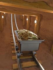 Data mining • Data mine • Binary mine cart