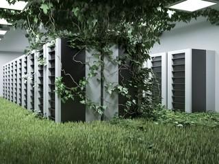 Green data center • Green energy data servers
