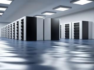 Flooded data center • Data flooding