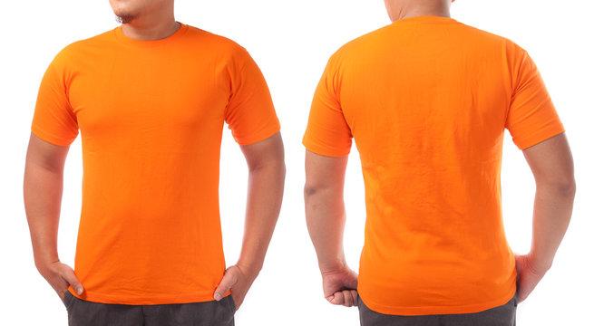 Orange Shirt Design Template