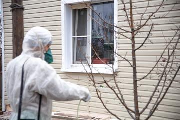 gardener trees covers pesticides