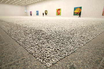 """Exibition """"Everything is art. Everything is politics"""" of Chinese artist Ai Weiwei in Dusseldorf"""