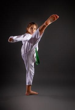 Little Karateka Girl