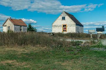 Two Sheds in Rural Nova Scotia