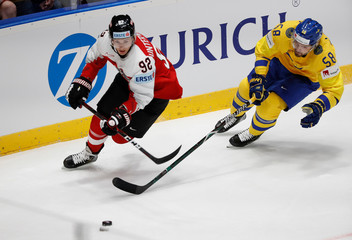 Ice Hockey World Championships - Group B - Sweden v Austria
