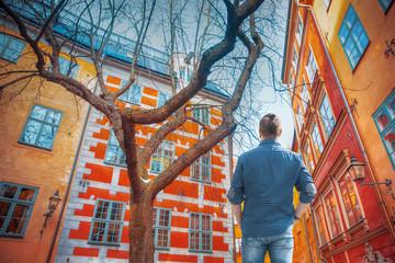Stockholm. Old city.