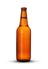 full bottle of beer
