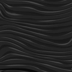 Black Vector Wavy Dynamic Background