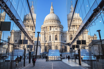 Saint Paul's Cathedral Reflected