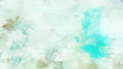 broad brush strokes of lavender, turquoise and sky blue color paint. can be used for wallpaper, cards, poster or creative fasion design elements Wall mural