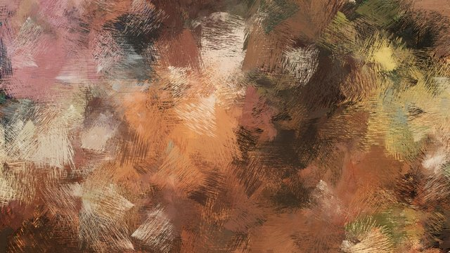 old brush strokes background with pastel brown, brown and very dark green colors. graphic can be used for wallpaper, cards, poster or creative fasion design elements