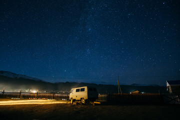 Milkyway Galaxy and Van