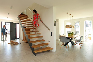Treppe Design Flur modern Esszimmer