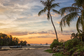 Sunset at Klong Muang Beach, Krabi, Thailand