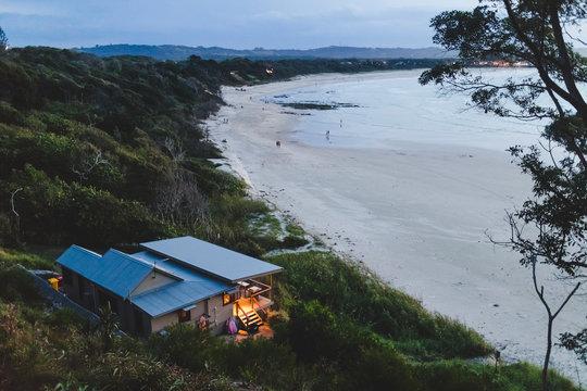 House on Australian beach