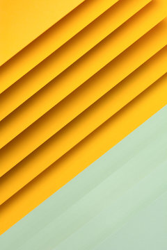 Yellow and light green paper design