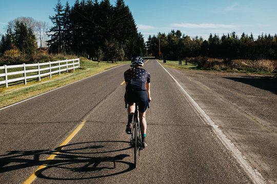 Cycling Near Portland Oregon