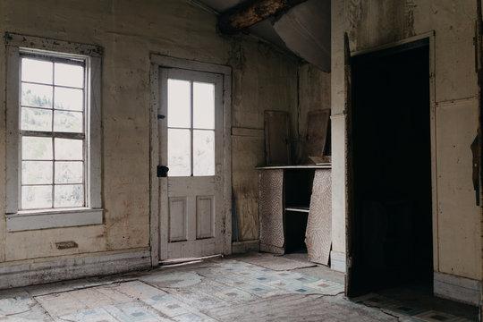 Creepy, Abandoned Home