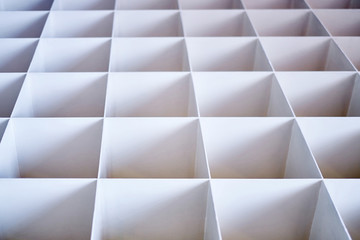 Background of white abstract pattern