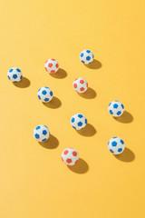 Football/soccer  balls.