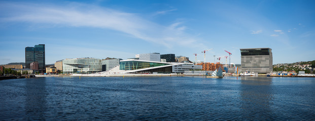 Oslo's Waterfront with it's new Culture Buildings
