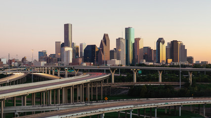 Houston skyline, Texas, USA