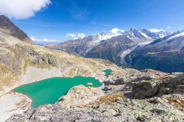 Lac Blanc during summer, Chamonix, France