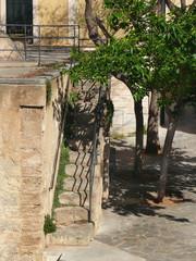 Treppe im Viertel Santa Catalina von Palma de Mallorca