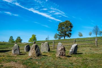 Tajemniczy kamienny krąg