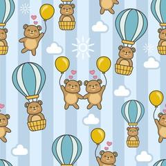 Bear Go To Sky