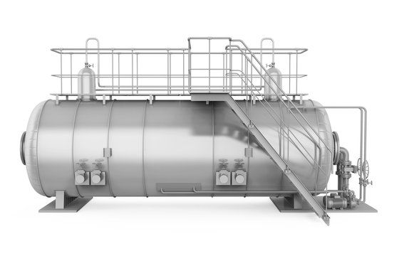 Pressure Vessel Tank Isolated