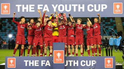 2019 FA Youth Cup Final Football Man City U18s v Liverpool Under 18s Apr 25th