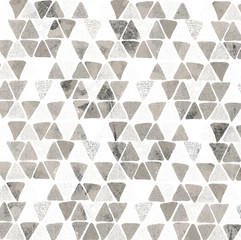 Geometry modern repeat pattern with textures - 268274257