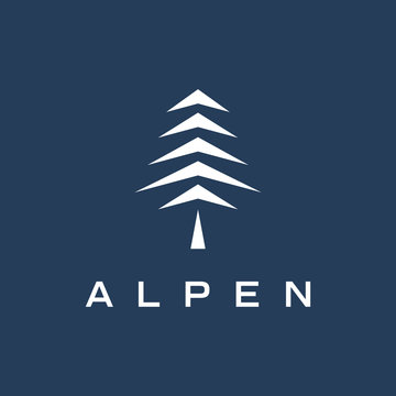 Pine Logo Design Template