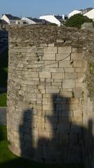 Roman wall of Lugo. Worl Heritage. Galicia,Spain