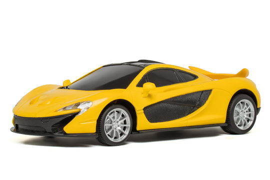 Toy Yellow Sports Car